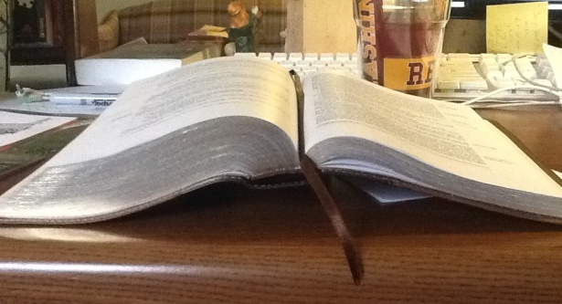 Three quarters bible