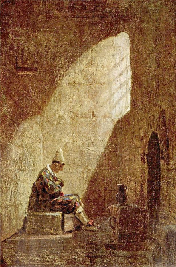 Ash Wednesday - Carl Spitzweg, c.1855
