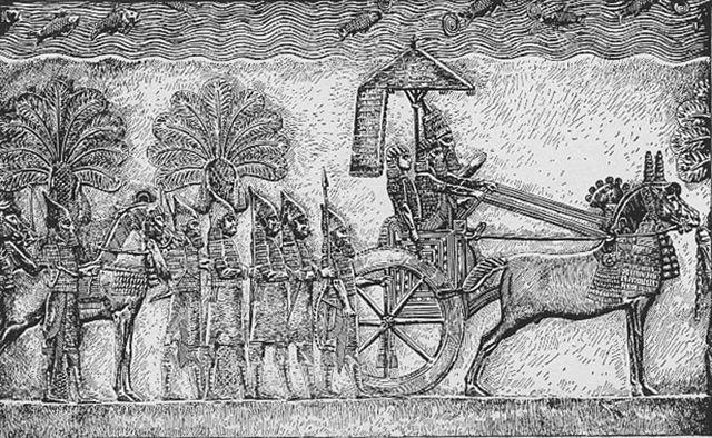 Sennacherib from palace in Nineveh