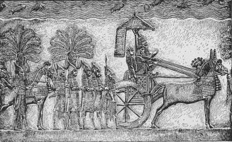 Sennacherib from palace in Nineveh