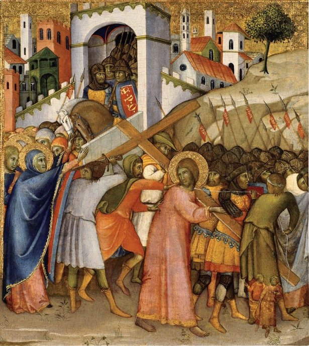 Andrea di Bartolo. Way to Calvary. c. 1400