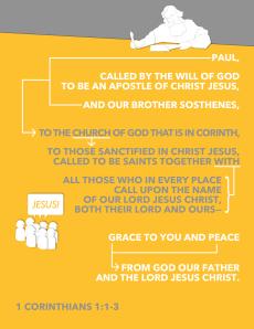 Memory Verse 1 Cor 1.1-3