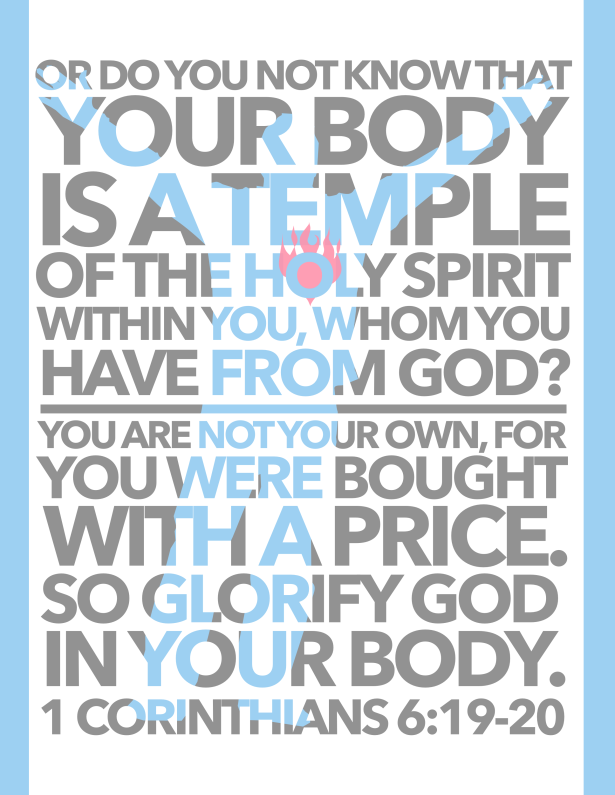 Memory Verse 1 Corinthians 6:19-20