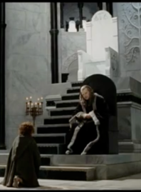 He wanted what wasn't his to have -- the big throne.