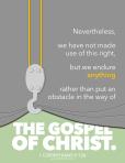 1 Corinthians 9:12b