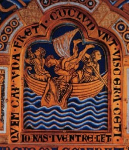 jonah in the whale Verduner altarpiece