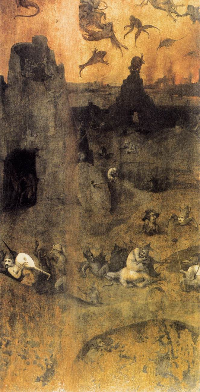 Hieronymus Bosch - The Fall of the Rebel Angels, c. 1510